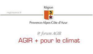 8ème Forum Agir + pour le climat, Marseille, 03/11/2014