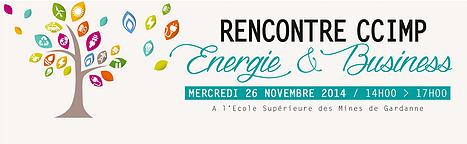 Rencontre CCIMP Energie & Business, Gardanne, 26/11/2014