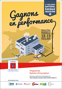 1er Colloque national Energie Industrie