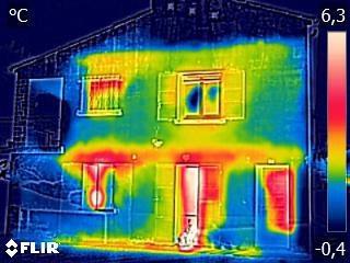 Audit énergétique d'une maison des années 60