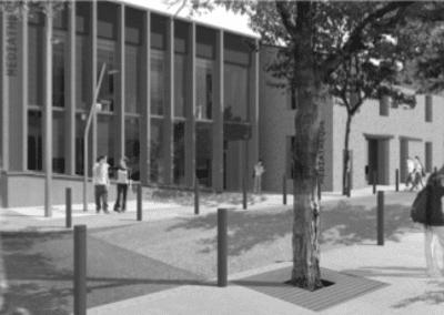 Bilan thermique d'une médiathèque et d'un espace associatif à Bras (83)